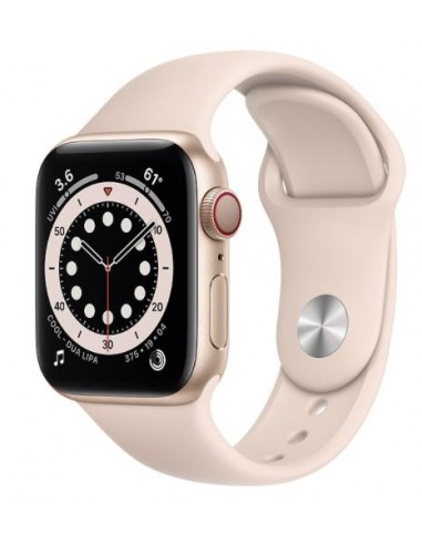 Apple Watch Serie6 GPS+Cell40mm Gold...