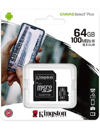 Micro SD Kingston 64GB Classe 10...