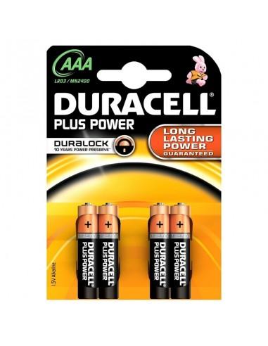 Duracell Plus Alcaline Ministilo AAA...