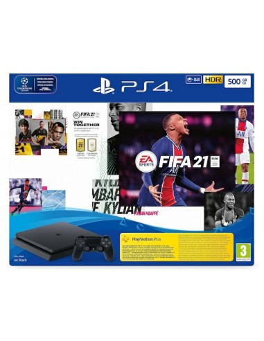 PS4 Console 500GB Chassis Slim Black...