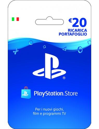 PlayStation Live Card Hang Ricarica 20€