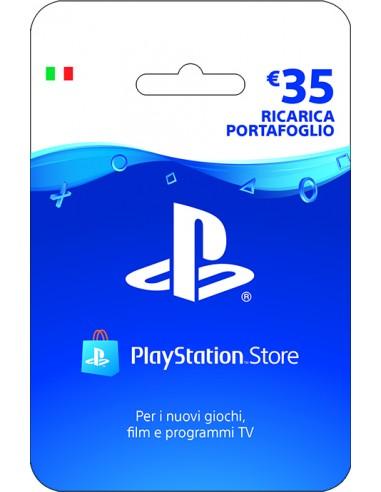 PlayStation Live Card Hang Ricarica 35€