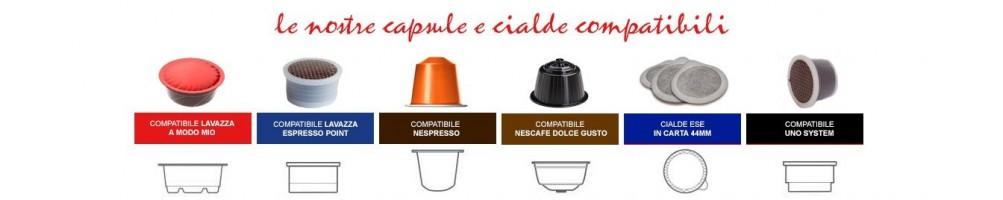 Cialde e capsule compatibili